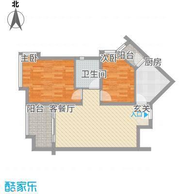 宝安江南城宝安江南城户型图高层海景公馆B2户型户型10室