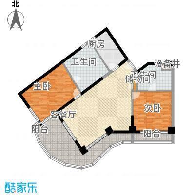 隆源神州半岛142.00㎡隆源神州半岛户型图A户型2室2厅2卫户型2室2厅2卫