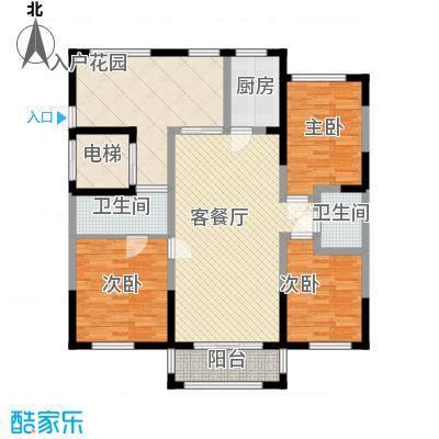 伊比亚河畔129.41㎡伊比亚河畔户型图21/22号楼A户型(2F-16F)3室2厅2卫户型3室2厅2卫