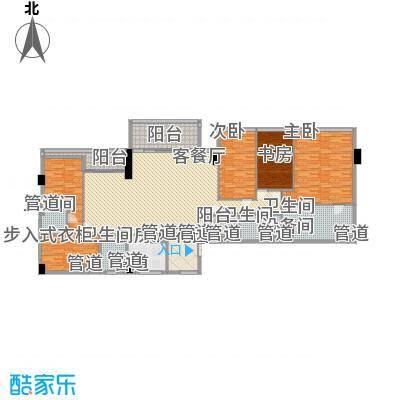 双大国际公馆283.86㎡双大国际公馆户型图21层54室2厅4卫1厨户型4室2厅4卫1厨