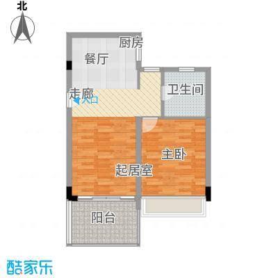 中信博鳌千舟湾中信博鳌千舟湾户型图E户型度假公寓1室2厅1卫户型1室2厅1卫