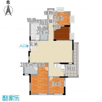 中银苑 4室 户型图