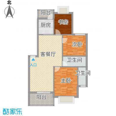 万泉河家园92.99㎡万泉河家园户型图公寓E-2户型3室2厅1卫1厨户型3室2厅1卫1厨