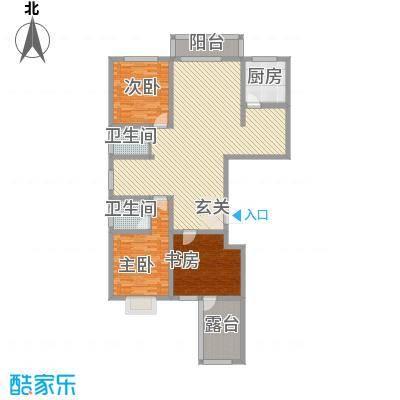 元氏龙湖湾169.79㎡元氏龙湖湾户型图N户型3室2厅2卫1厨户型3室2厅2卫1厨