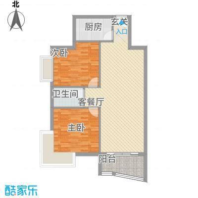 东海豪庭花园98.77㎡东海豪庭花园2室2厅1卫1厨98.77㎡户型10室