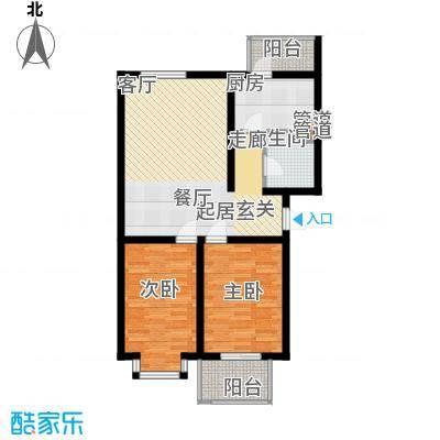 武汽宿舍94.00㎡武汽宿舍2室户型2室