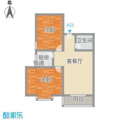 江山如画三期110.00㎡江山如画三期2室户型2室