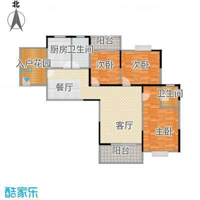 古田电信小区87.00㎡电信小区户型3室1厅2卫1厨
