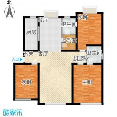 东坡家园136.90㎡石家庄东坡家园户型10室