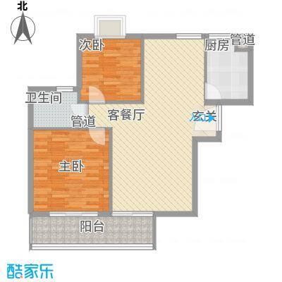 汉口春天汉口春天户型图户型A2室2厅1卫1厨户型2室2厅1卫1厨
