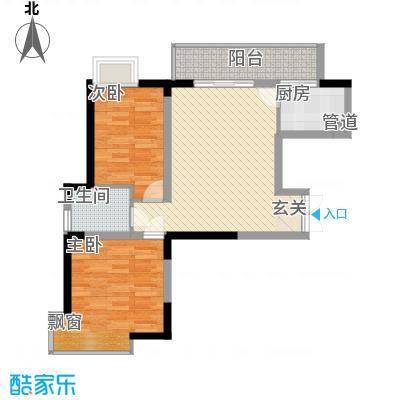 �房翰林珑城87.03㎡�房翰林珑城户型图A2户型2室2厅1卫1厨户型2室2厅1卫1厨