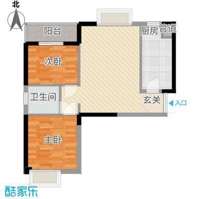 �房翰林珑城79.72㎡�房翰林珑城户型图C1户型2室2厅1卫1厨户型2室2厅1卫1厨