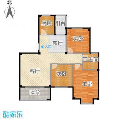 江南名苑103.65㎡B2户型3室1厅1卫1厨