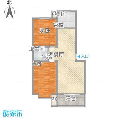 环岛豪庭户型图4#雅尚98.55已售完 2室2厅