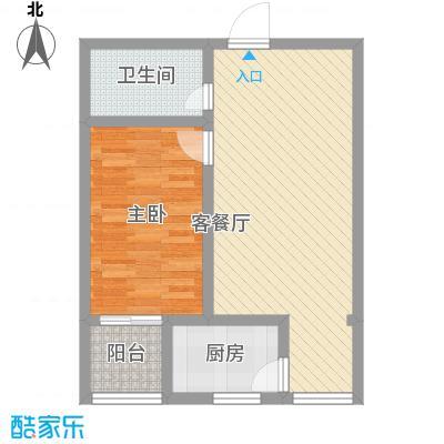 家和苑二期66.27㎡家和苑二期户型图F户型1室2厅1卫1厨户型1室2厅1卫1厨