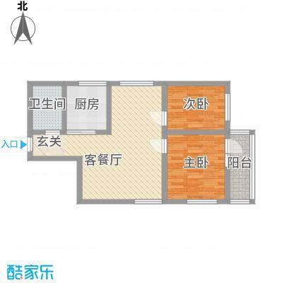 东河花园东河花园户型图二房户型图2室2厅1卫1厨户型2室2厅1卫1厨