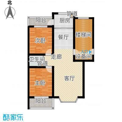 新安家园98.58㎡新安家园户型图B户型2室2厅1卫1厨户型2室2厅1卫1厨