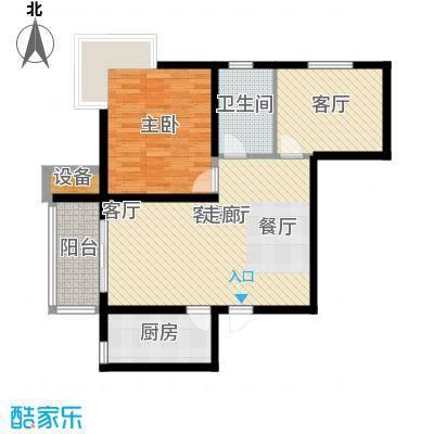 水岸丽景77.00㎡水岸丽景户型图A户型2室2厅1卫1厨户型2室2厅1卫1厨