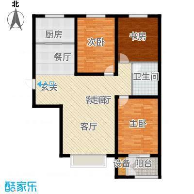 水岸丽景119.00㎡水岸丽景户型图D户型3室2厅1卫1厨户型3室2厅1卫1厨