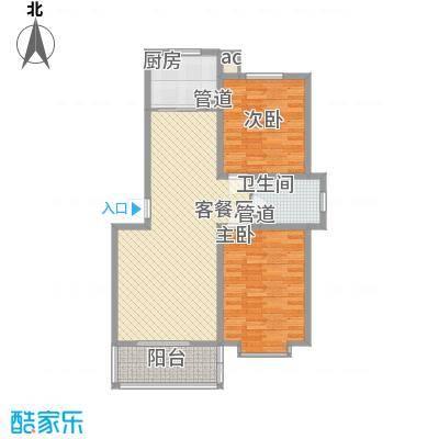 环岛豪庭户型图3#晶筑100.01已售完 2室2厅