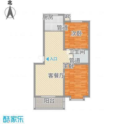 环岛豪庭户型图3#晶筑98.55已售完 2室2厅