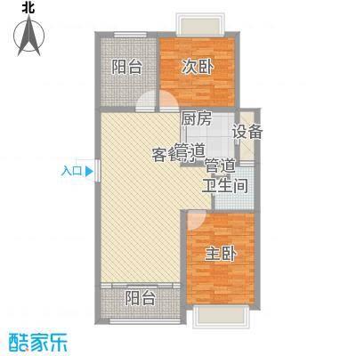 主语城105.00㎡主语城户型图E户型3室2厅1卫1厨户型3室2厅1卫1厨