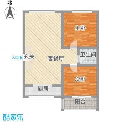 吴兴花园97.00㎡吴兴花园2室户型2室