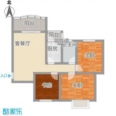碧水秀城碧水秀城户型图96.96平米3室2厅户型3室2厅