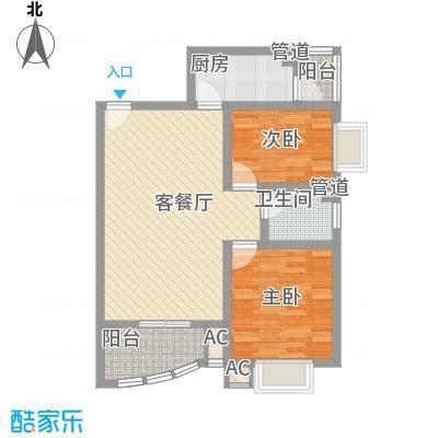 碧水秀城碧水秀城户型图89.16平米2室2厅户型2室2厅