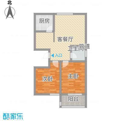 碧水秀城碧水秀城户型图89.65平米2室2厅户型2室2厅