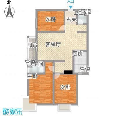 卓达新城3室