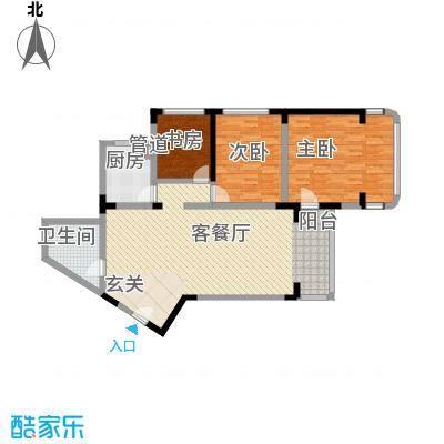 华脉新村142.77㎡华脉新村户型图3室2厅1卫1厨户型10室