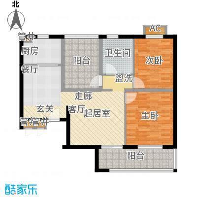 金龙花园二期金龙花园二期户型图三期户型单张072室2厅1卫1厨户型2室2厅1卫1厨