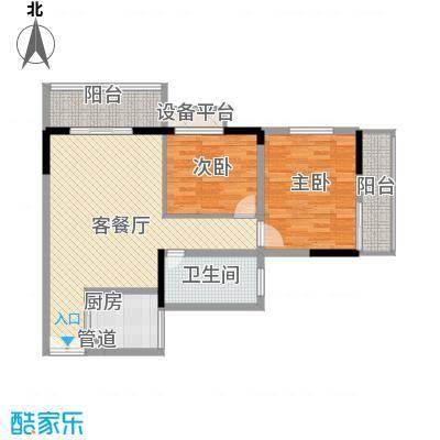 水木庭苑124.99㎡水木庭苑户型图D3室2厅2卫户型3室2厅2卫