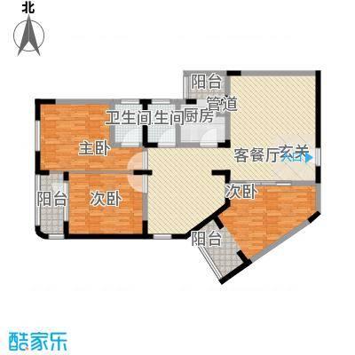 华脉新村161.55㎡华脉新村户型图3室2厅2卫1厨户型10室