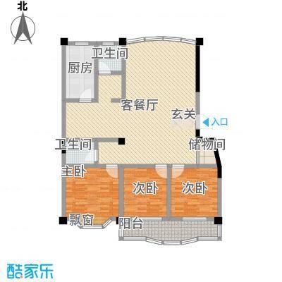 丽水花园148.62㎡丽水花园户型10室