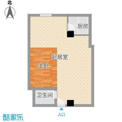 兴邦商住公寓64.66㎡兴邦商住公寓64.66㎡1室2厅1卫1厨户型1室2厅1卫1厨