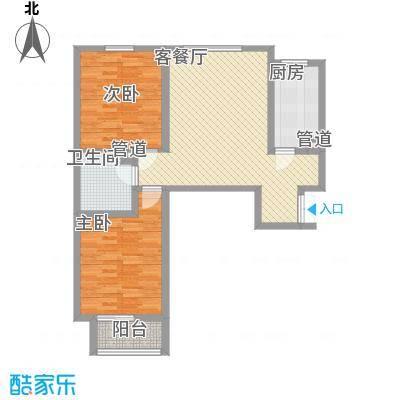 裕馨城二期98.82㎡裕馨城二期户型图C户型2室2厅1卫1厨户型2室2厅1卫1厨