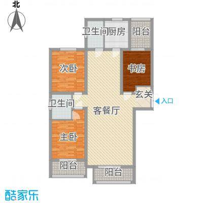 志诚雅居137.00㎡志诚雅居137.00㎡3室户型3室