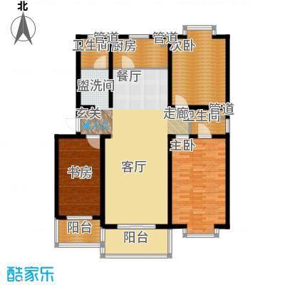 康馨雅苑二期户型1户型3室2厅