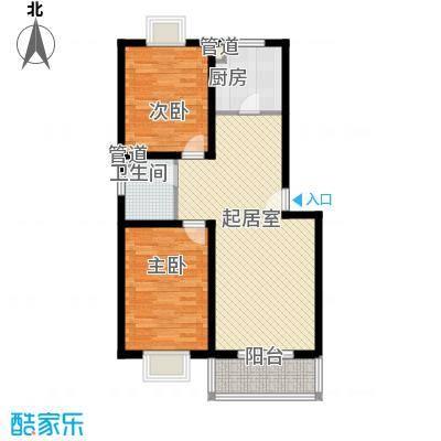 康馨雅苑二期户型4户型2室2厅