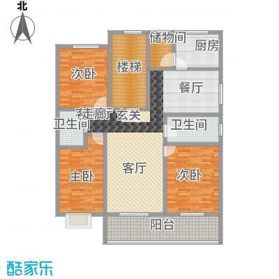 广安苑158.85㎡广安苑158.85㎡3室2厅户型3室2厅