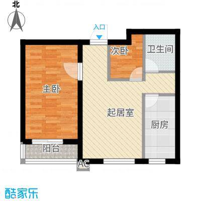 棉一宿舍65.00㎡棉一宿舍3室户型3室