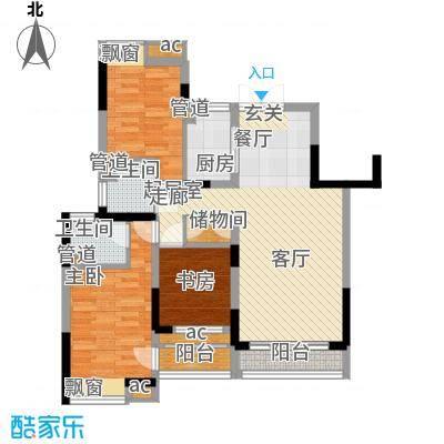 建筑设计院宿舍85.00㎡建筑设计院宿舍3室户型3室