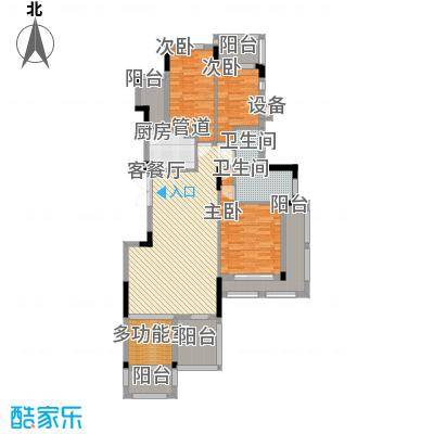 从化托斯卡纳146.81㎡从化托斯卡纳户型图A4-2014室2厅2卫1厨户型4室2厅2卫1厨