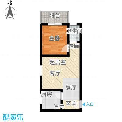 金龙花园二期金龙花园二期户型图一室一厅11室1厅户型1室1厅