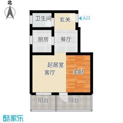 金龙花园二期金龙花园二期户型图一室一厅1室1厅户型1室1厅