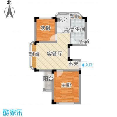 巴斯小镇85.00㎡巴斯小镇户型图C户型2室2厅1卫1厨户型2室2厅1卫1厨