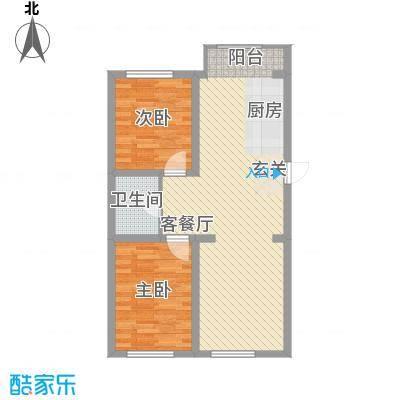 东正富贵雅居78.24㎡东正富贵雅居户型图E户型2室2厅1卫户型2室2厅1卫