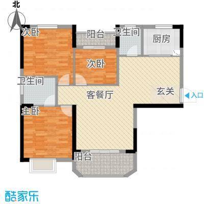 金龙琴台馨都118.00㎡金龙琴台馨都户型图A1户型3室2厅2卫1厨户型3室2厅2卫1厨